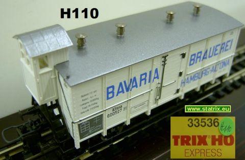 H110 / Trix Express 33536 beer refrigeration car