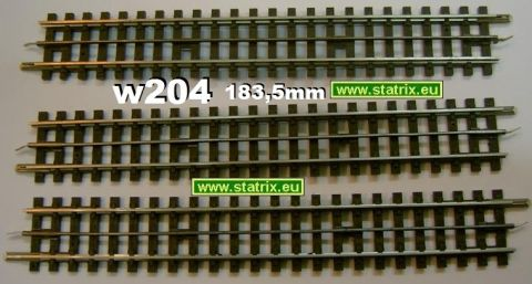 w204/ Trix Express 4303 1/1 straight track 183,5mm long, very go