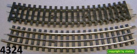 w217/ Trix Express 4324 curved