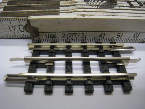 w209/ Trix Express 4307 straight 88mm long