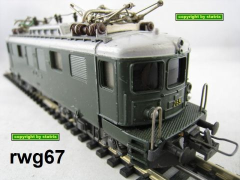 Trix Express 762 232 2232 Electric loco of the BLS dark green (rwg67)