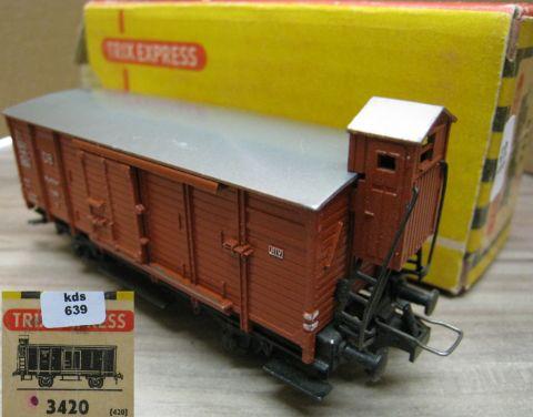 Mä / Trix Express heavy freight train locomotive E 151 024-7 of DB Cargo (kds339b)