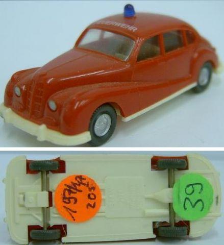 Wiking 197/1, BMW 501 der Feuerwehr w 39
