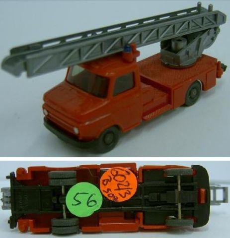 Wiking 602/3B, neue Blitz-Feuerwehr Leiterwagen w 56