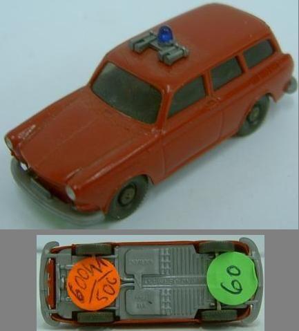 Wiking 600/11 B, Einsatzleiterwagen VW Variant w 60