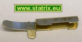 Trix Express 10 Stück Mittelleiterkontaktfedern zu118