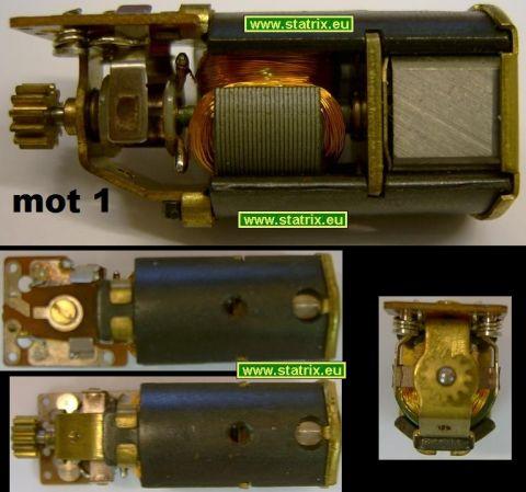 Trix Motor 40-0123-00 Antriebsmodul: kleines Zahnrad (12 Zähne) typ1g