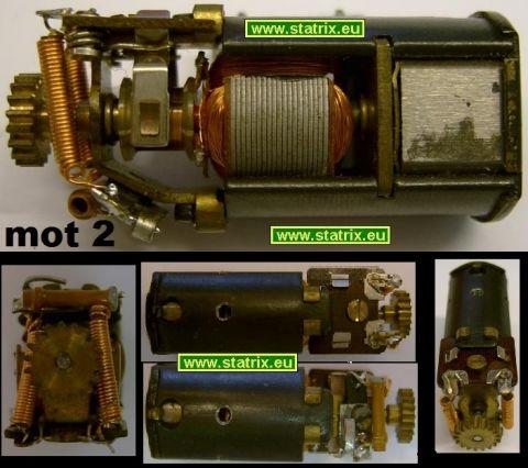 Trix Motor typ2g Antriebsmodul: großes Zahnrad