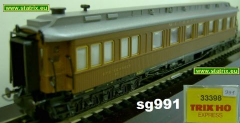 sg991/ Trix Express 33398 CIWL Dinningcar teakwood version