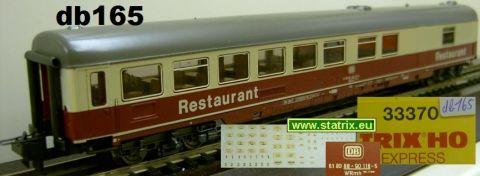 Trix Express 33370 TEE/IC Speisewagen-Restaurant WRmh (db166)