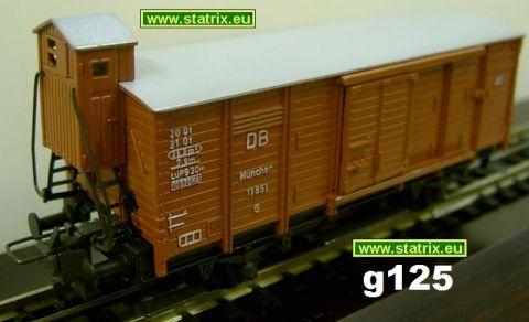 H125/ Trix 20/118, 420, 3420 boxcar typ munich