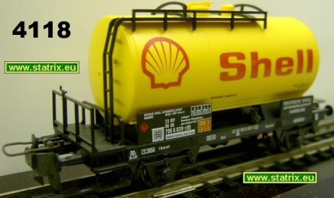 sg4118/ Trix Express 35541 SHELL petrol-car