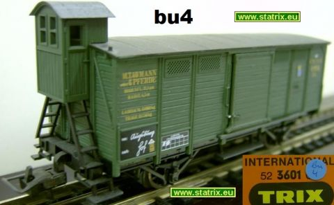 bu4 / Trix International 3601 bavarian Boxcar
