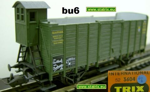 bu6 / Trix International 3604 bavarian hoppercar with breakmensh