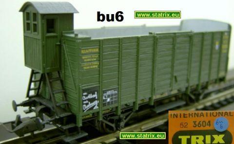 bu6 / Trix International 3604 bavarian hoppercar with breakmensh