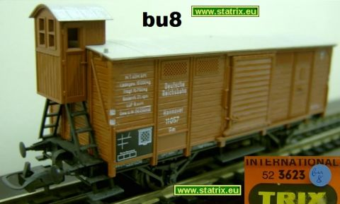 bu8 / Trix International 3623 Boxcar from the DR