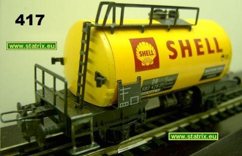 sg417/ Trix Express 427, 3427 SHELL petrol car 2-axles