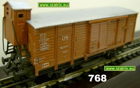 768/ Trix Express 20/118, 420, 3420 boxcar Munich