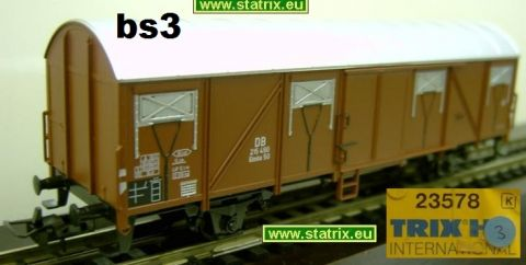 bs3/ Trix International 23578K boxcar from the DB