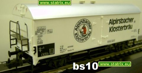 bs10/ Trix International 3605 beerboxcar Alpirsbacher