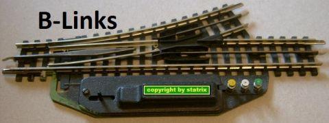 Trix Express 4361 elektrische Weiche Links (B4361)