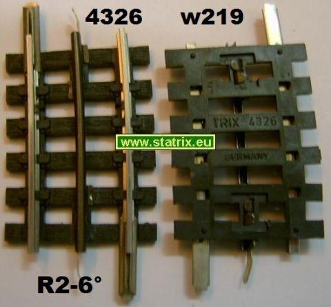 Trix Express 4326 gebogen R2-6°, 1. Wahl