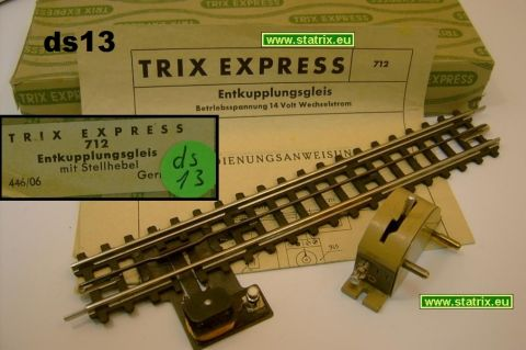 ds13/ Trix Express 712 special set to seperate two cars