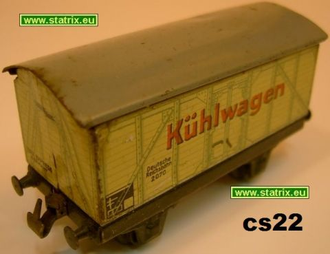 cs22/ Trix Express 20/70 refrigeratorcar from 1937