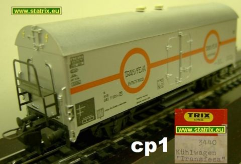 Trix Express 3440 Boxcar Transfesa, (cp1)