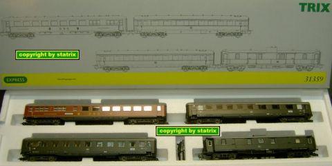 Trix Express 31359 express train set (us258)