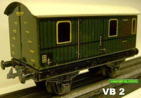 Trix Express 20/101 Baggagecar (VB 2)
