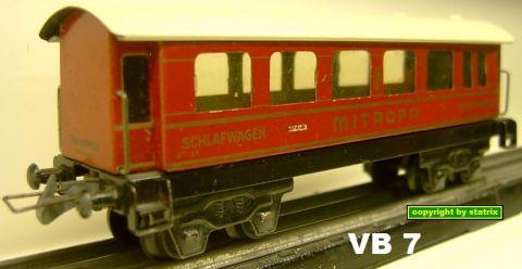 Trix Express 20/154 Schlafwagen (VB 7)
