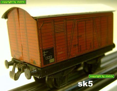 Trix Express 20/62 german boxcar (sk5)