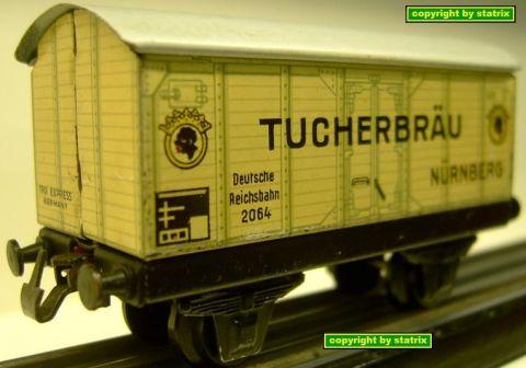 Trix Express 20/64 Bierwagen TUCHERBRÄU (sk6)