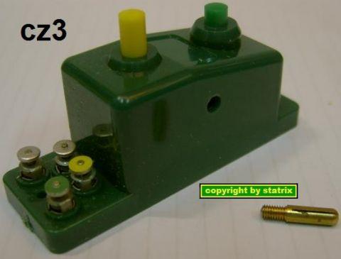 Trix 6595 Doppelfunktions-Schalter grün (cz3/us)
