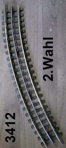 Trix Express 4312 gebogen R1-30° 2. Wahl