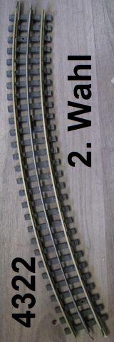 w215/ Trix Express 4322 curved, R2-30°