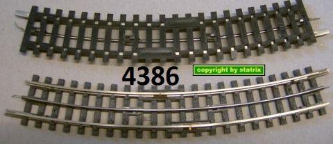 Trix Express 4386 Unterbrechergleis gebogen R2 gw