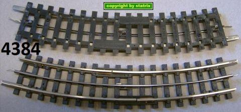 Trix Express 4384 Unterbrechergleis gebogen R1 gw