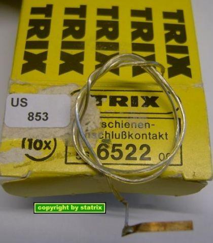 Trix 6522 Aussenschienen-Anschlußkontakt (us853)