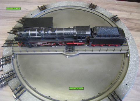 Märklin 7186 Drehscheibe mit Original Schalter