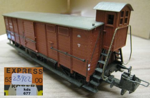 Trix Express 20/398 3398 Packwagen der BLS (us711)