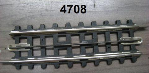 Trix Express 708 / 4708  Pappgleis gerade 88mm 1. Wahl