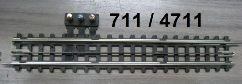 Trix Express 711 / 4711 Anschlussgleis gerade 1. Wahl