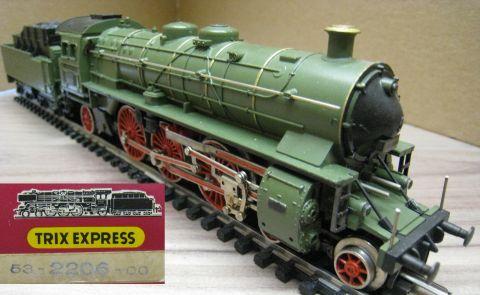 Trix Express 2206 Dampflokomotive S3/6 der K.Bay.Sts.B (kds113) NUR 1971/72