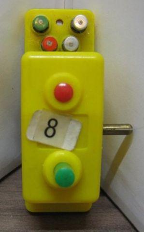 Trix 6594 Doppelfunktions- Schalter gelb Steuerschalter (Dauerkontakt)
