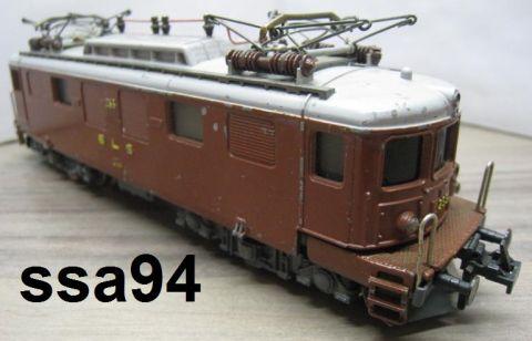 Trix Express 2236 Ae 4/4 der SBB braun (ssa94)