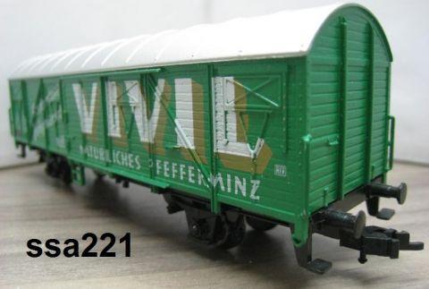 TI/TE 23885 gedeckter Güterwagen VIVIL grün nur 96/97 (ssa221)