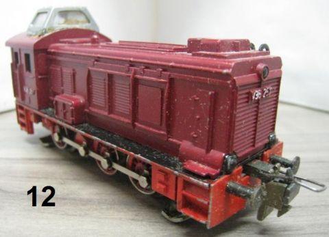 Trix Express 2263 V 36 rot (nr12)